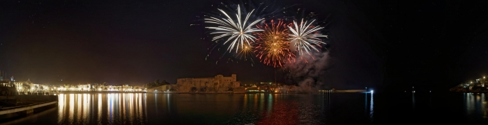 Collioure New Year's Eve fireworks 02