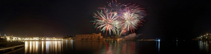 Collioure New Year's Eve fireworks 05