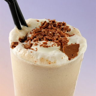 milk shake-chocolate-brandy