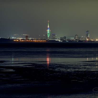 Spinnaker Tower from Ryde
