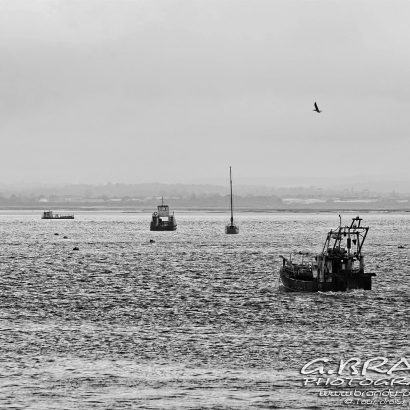 Langstone Channel BW