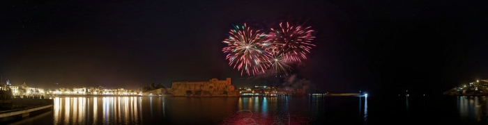 Collioure New Year's Eve fireworks 03