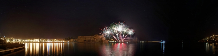 Collioure New Year's Eve fireworks 01