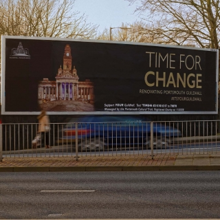 Billboard Portsmouth Guildhall