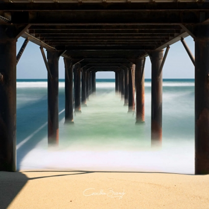 Leucate Pier, South of France 01
