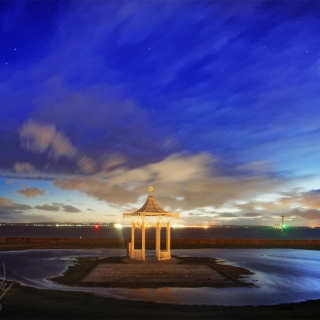 Portsmouth-southsea-bandstand-flood-night-brandy