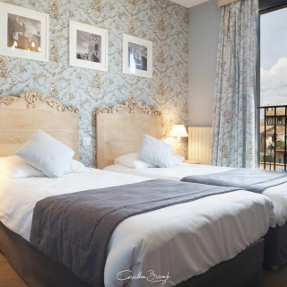 Hotel Carcassonne interior photography