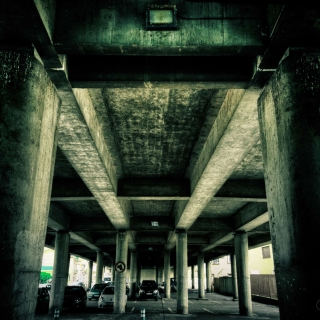 Under Road Bridge